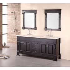 design element marcos 72 double sink vanity set with travertine stone countertop in espresso