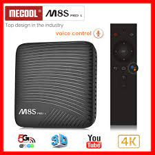 S912 Octa-Core Smart-TV-Box MECOOL M8S PRO L ATV Android 7,1 3GB/16GB Dual  WiFi