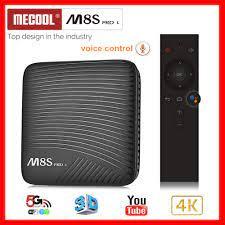 S912 Octa-Core Smart-TV-Box MECOOL M8S PRO L ATV Android 7,1 3GB/16GB Dual  WiFi