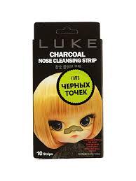 """<b>Очищающие</b> от черных точек угольные <b>полоски</b> """"<b>Luke Charcoal</b> ..."""