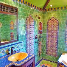 lovely moroccan themed bathroom using turkish moroccan and mexican tiles of lovely moroccan themed bathroom using