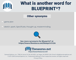 Synonyms For Blueprint Thesaurus Net