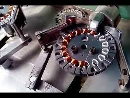 automatic ceiling fan motor winding