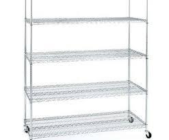 ikea wire shelves charming rolling metal shelf 5 tier garage chrome shelving wire storage rack