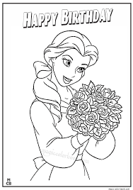 Pin By Cherl Johns On Coloring Belle Coloring Pages Disney