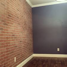 faux brick wall panels from home depot home decor ideas