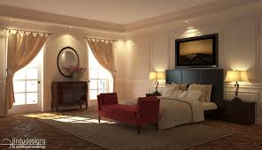 3d bedroom design. 3d Bedroom Rendering Traditional Design