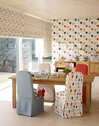 laura ashley serena wallpaper contemporary living room