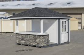 pool house bar. Wood(T-111) Pool House Bar