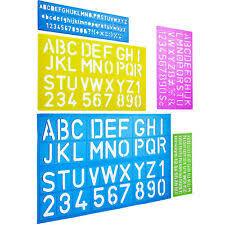 Templates Alphabet Letters Alphabet Templates Letter Stencils Template Letters Pack Of 5
