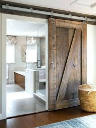 sliding doors for bathroom sliding barn door for bathroom architecture and interior impressive best barn door sliding doors for bathroom best