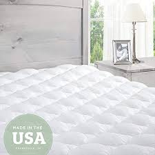 firm mattress topper. Contemporary Firm Pillowtop Mattress Pad With Fitted Skirt  Extra Plush Topper Found In  Marriott Hotels Made The USA Queen With Firm N