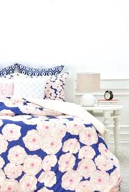 beautiful fl bedding by joy sophistication in navy duvet cover deny designs home sets reviews garima