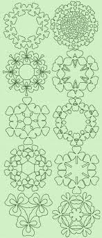 128 best St. Patrick's Day images on Pinterest | Drawings, Jewel ... & Advanced Embroidery Designs - Shamrock Quilt Set Adamdwight.com