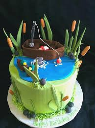Easy Fish Birthday Cake Ideas Amazingbirthdaycakega