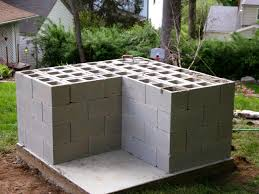 building an outdoor oven renocompare with concrete block grill plans