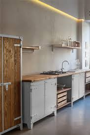 Industrial Kitchen Cabinets 25 Best Ideas About Rustic Industrial Kitchens On Pinterest