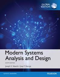 Modern Systems Analysis And Design Global Edition 8th Hoffer