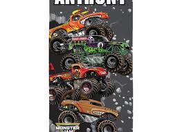 monster truck wall decals stickers
