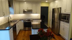 task lighting for kitchen. Kitchen Task Lighting. Has A White Beveled Subway Tile Backsplash, Black Granite Countertops Lighting For
