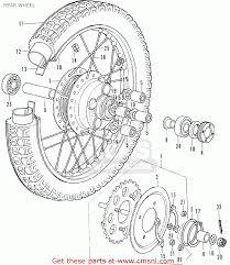 1972 honda cb350 parts fiche on honda cb450 parts