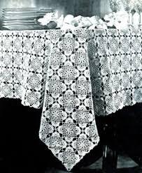 Crochet Tablecloth Pattern Mesmerizing Jonquil Tablecloth Pattern Crochet Patterns