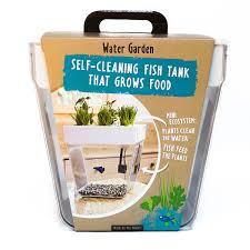 Self Cleaning Fish Tank Garden Water Garden Fishbowl Herb Garden Uncommongoods
