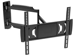 mono full motion articulating tv wall mount bracket for tvs 32in to 55in