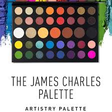 Sister james charles recently collaborated with morphe to bring you a rainbow eyeshadow palette! Morphe X James Charles Palette Glam Beauty Jay