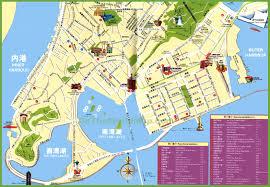 macau tourist map