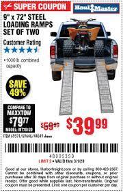 haul master 1000 lb capacity 9 in x