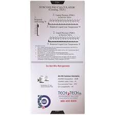 R22 Superheat Slide Chart Icor International Part Nubssc Icor International Icor