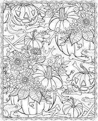 Printable Adult Coloring Pages Halloween Coloring Home