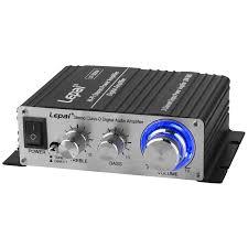 Lepai LP-2020A 2x20W Hi-Fi Audio Stereo Power Amplifier with 3A ...