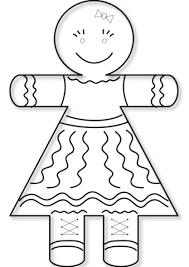 Small Picture Gingerbread Girl coloring page Free Printable Coloring Pages