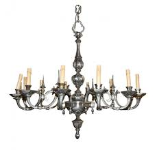 antique pewter lighting. antiques \u003e legacy continental silvered bronze chandelier antique pewter lighting h