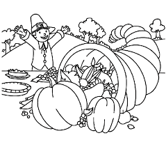 Small Picture Kindergarten Thanksgiving Coloring Pages FunyColoring