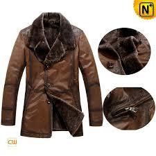 cowhide leather coat for men cwmalls com