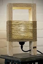 Homemade Table Lamps Impressive Decor Ideas Branchtablelamp Yidahocom