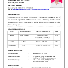 Job Resume Format Download Coles Thecolossus Co Inside Professional