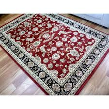 persian design woven floor area rug