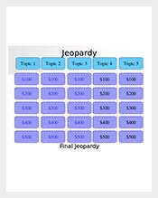 Jeopardy Game Template Jeopardy Template – 66+ Free Word, Excel, PDF, PPT, PPTX, Documents ...