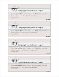 free coupon template word coupon office templates