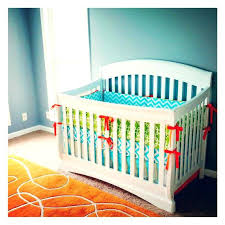 baby bedding sets orange nursery bedding items similar to nursery bedding set aqua blue orange lime green per pad