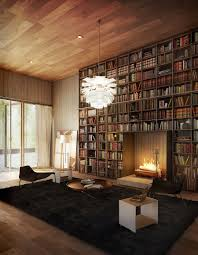Reading Room In House Space Saving Book Shelves And Reading Rooms