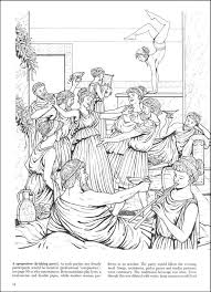 Small Picture Life in Ancient Greece Coloring Book 014610 Details Rainbow