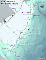 Fishing Charts Mapping Gps Coordinates Njdep Division Of Fish Wildlife Locations Of New Jersey