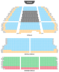 Alexandra Palace Seating Chart Lyceum Theatre Seating Plan Watch The Lion King At West End