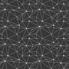 Geometric Line Hipster Seamless Pattern With Triangle Circles