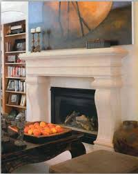 For a larger footprint, go with the Large Avant Cast Stone Modern Mantel